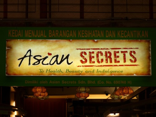 Wayfinding and Typographic Signs - secrets-of-asia