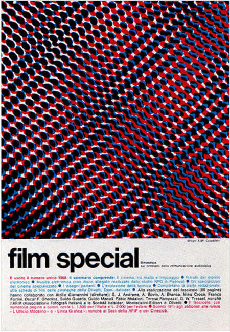 Vintage and Retro - 1960's Advertising - Magazine Ad - Film special (Italy)