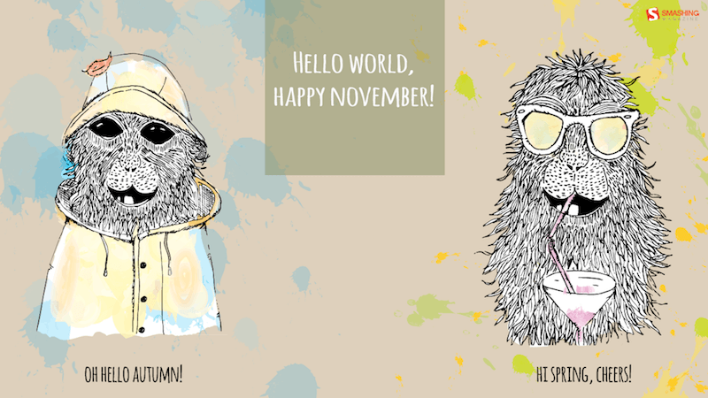Hello world, happy November!
