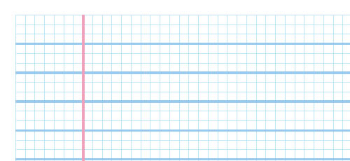 Sketch, Template And Wireframe Printable Paper  Lined Chart Paper