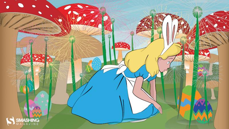 Egg Hunt In Wonderland
