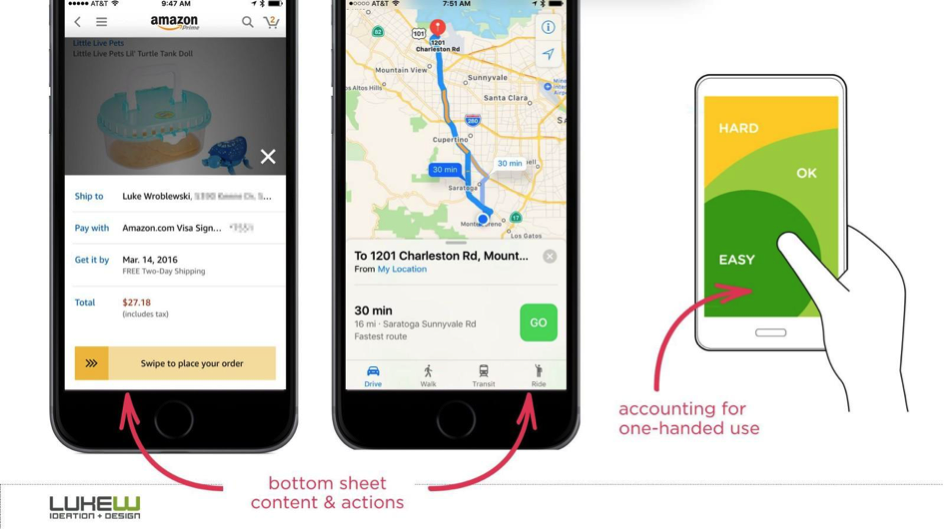 Basic Patterns For Mobile Navigation: Pros And Cons