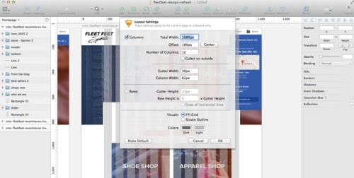 Working with grids in Sketch: easy!