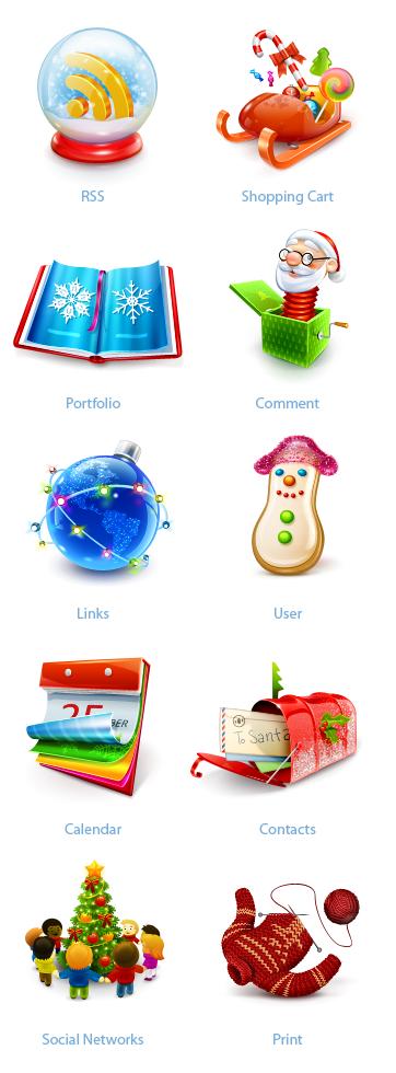 Smashing Christmas Icon Sets