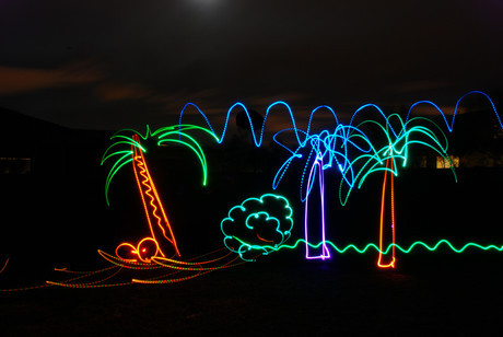 Lightning Photography - feb light graffiti 011