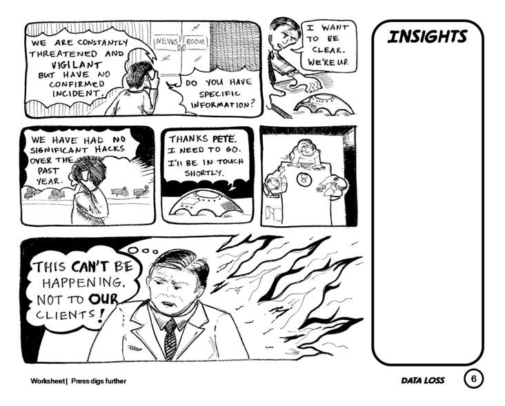 Boardroom Comics A Business Scenario Visualization Tool For