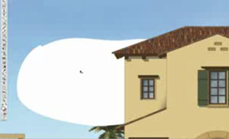 Draw Fluffy Clouds screen shot.