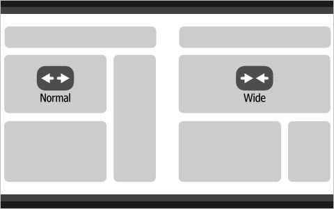Create YouTube-like adaptable view using CSS and jQuery