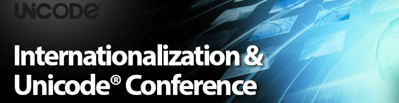 Internationalization & Unicode Conference 2018