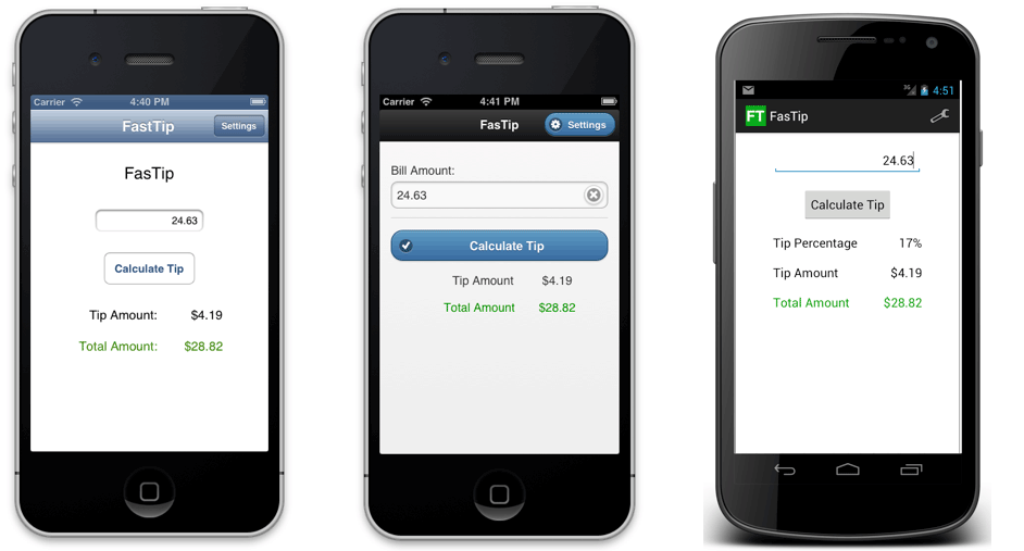 Four ways to build a mobile application part 1 native for Easy app design
