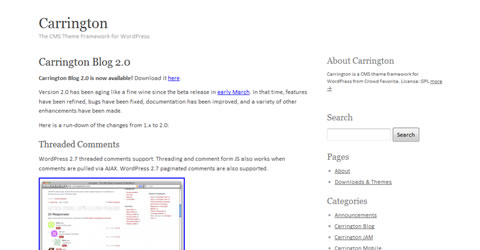 Wordpress Framework