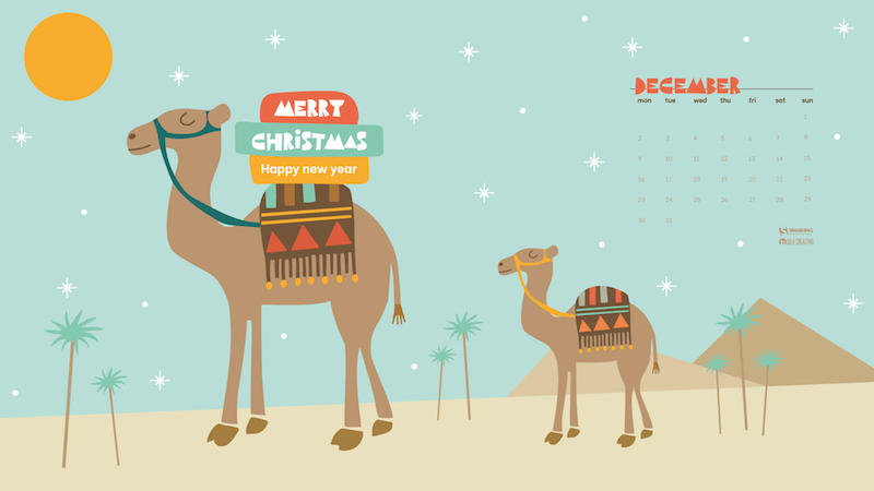 The Camels Wish You A Merry Christmas!