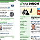 Screenshot of the The Onion homepage