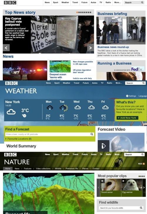 BBC web presences