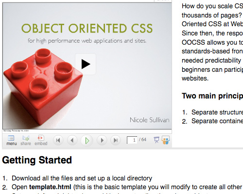 Object Oriented CSS Tool