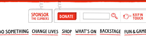 Red Nose Day donate button