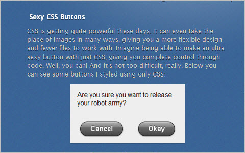 Sexy CSS Buttons