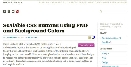 Designing Css Buttons Techniques And Resources Smashing