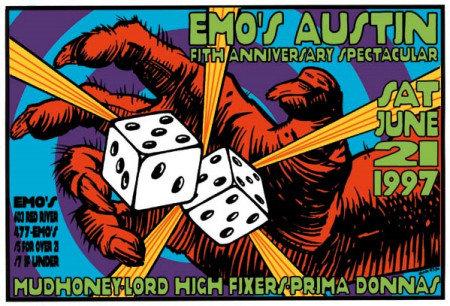 Emo's by Frank Kozik