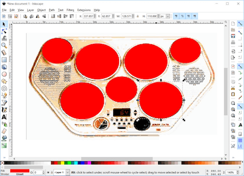 Creating A Small 8-bit Responsive Drum Machine Using Web Audio, SVG & Multi-Touches Image