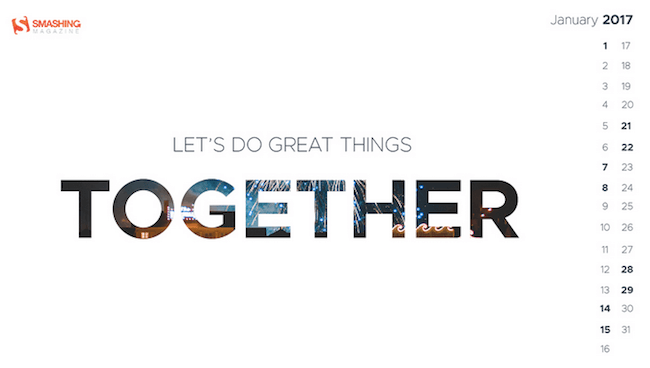 Let's do great things together!
