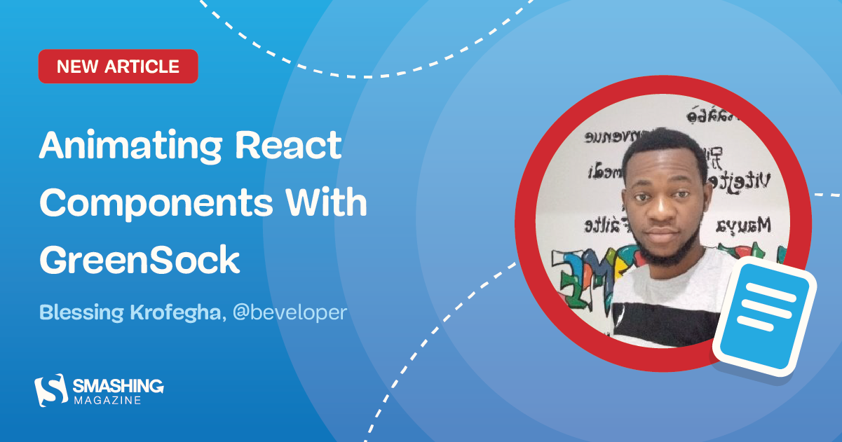 Animating React Components With GreenSock