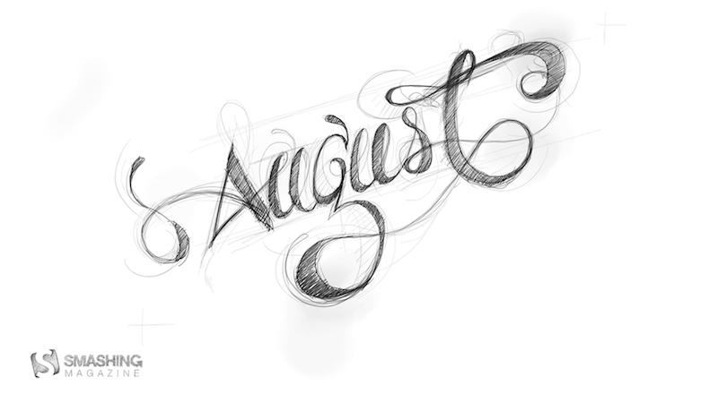 Handwritten August