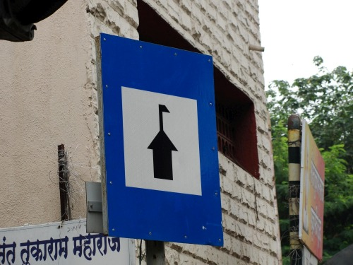 Wayfinding and Typographic Signs - meet-god-here