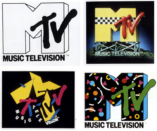 The History Of Logo Design - MTV Logos
