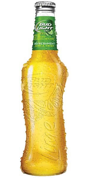 The New 2015 Bud Light Lime Bottle