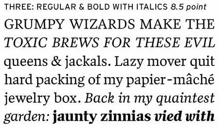 Professional Typefaces - Quiosco