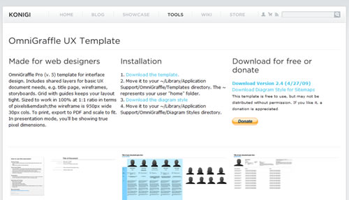 50 Free UI and Web Design Wireframing Kits, Resources and Source