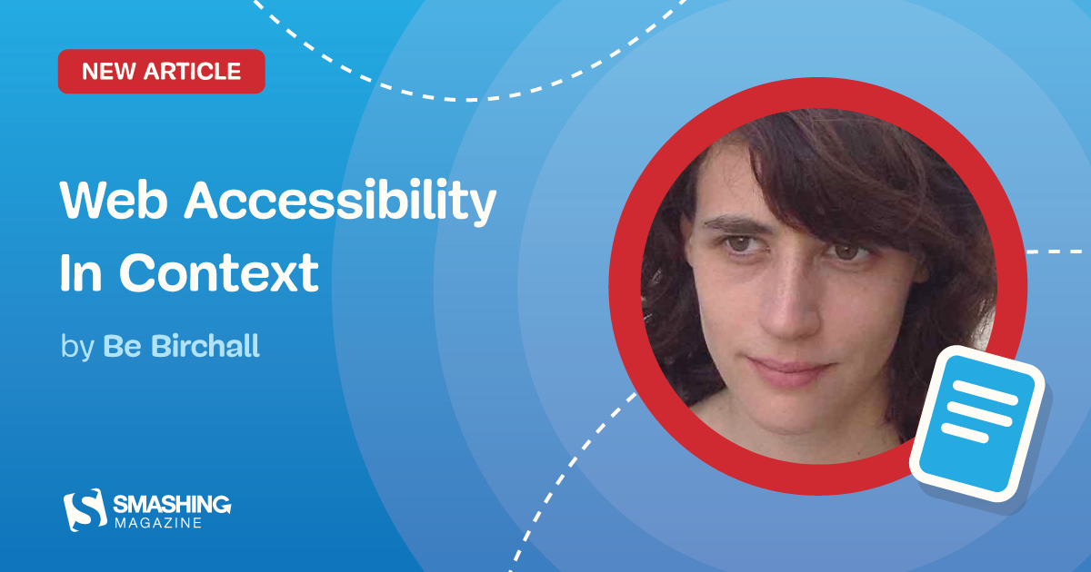Web Accessibility In Context