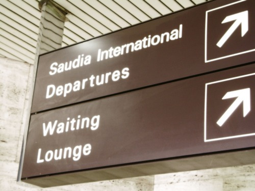 Wayfinding and Typographic Signs - airport-signs