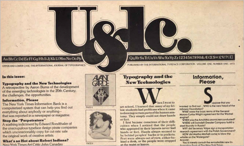 U&lc back issues to be made available