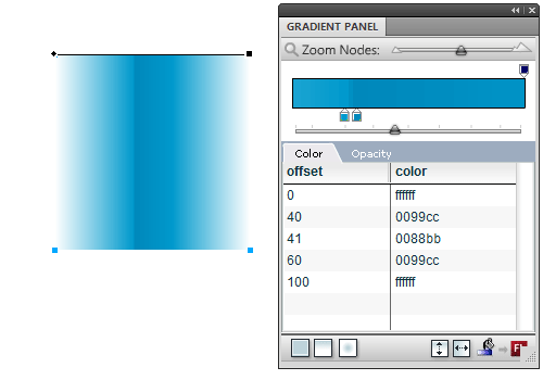 Gradient Panel extension (example)