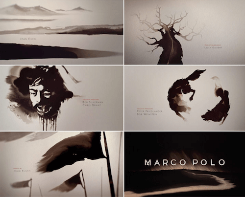Opening titles from the movie Marco Polo