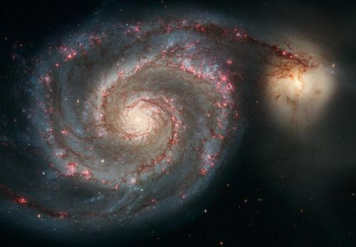 Space Photography - 2008 January 5 - M51: Cosmic Whirlpool