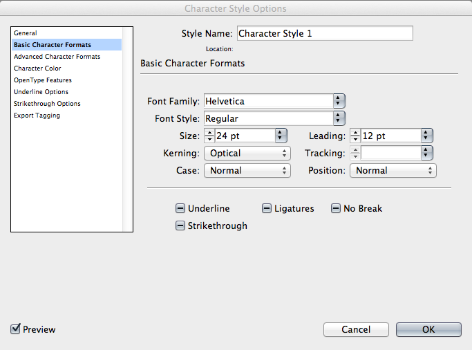 Styles enable you to maintain a consistent look and feel in a document.