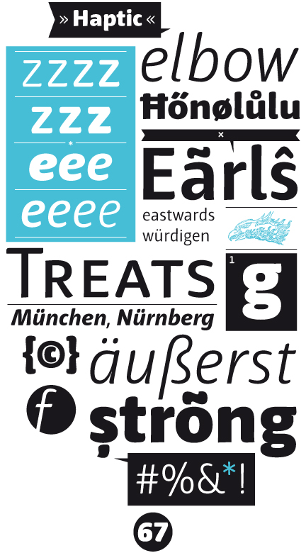 Professional Typefaces - Type & Graphics by Henning Skibbe