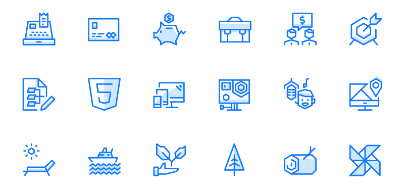 EGO Icons preview
