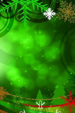 iPhone / iPod Touch Christmas Wallpapers