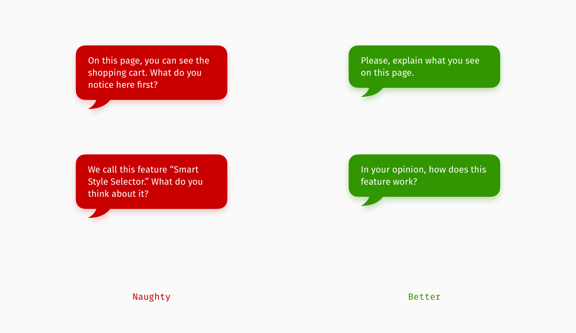 12 Ways To Improve User Interview Questions