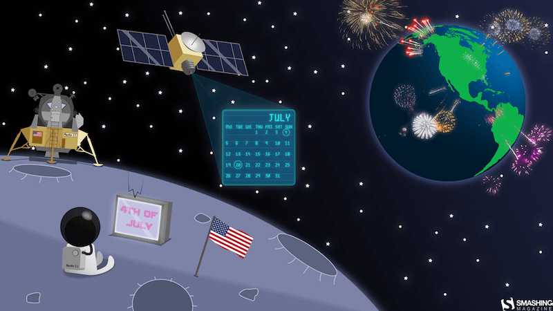 4th Of July And Apollo 11