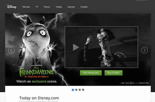 The design thinking behind the new Disney.com.