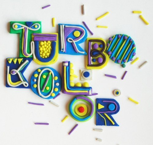 Plasticine Typography in Plasticine Art Showcase
