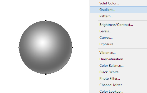 Creating a Gradient Shape Layer