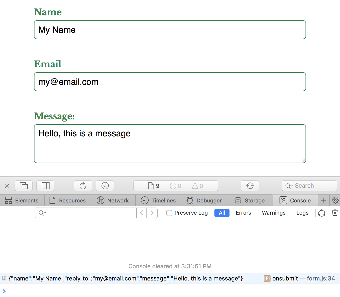 Building A Serverless Contact Form For Your Static Site
