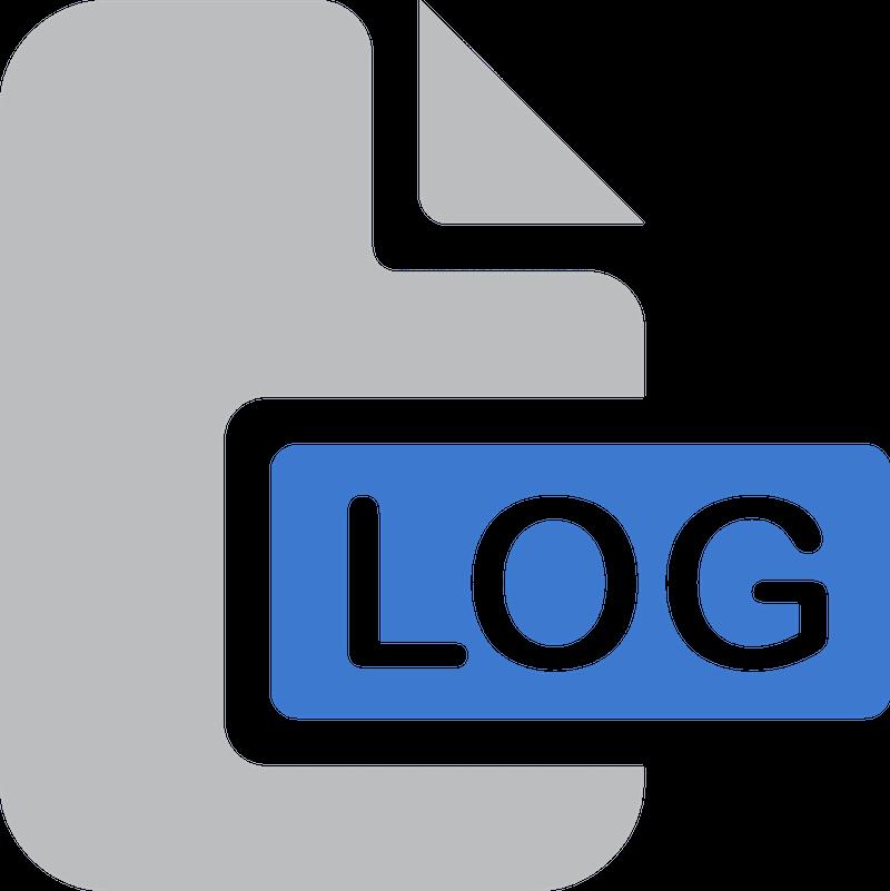 Log file.