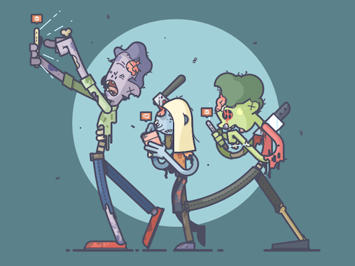 'Social Zombies' by Chris Fernandez
